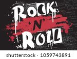 graphics slogan isolated on... | Shutterstock .eps vector #1059743891