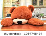 a teddy bear doll with interior ...   Shutterstock . vector #1059748439