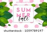 summer fashion stylish sale... | Shutterstock .eps vector #1059789197