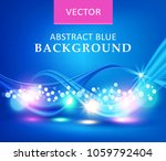 blue illustration. vector... | Shutterstock .eps vector #1059792404