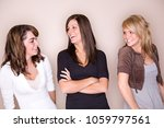 group of friends  hanging out ... | Shutterstock . vector #1059797561