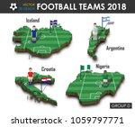 national soccer teams group d . ... | Shutterstock .eps vector #1059797771