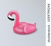 realistic 3d vector pink... | Shutterstock .eps vector #1059799244