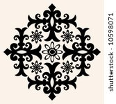 traditional decoration | Shutterstock .eps vector #10598071