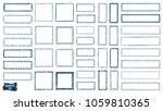 doodles set. scribble... | Shutterstock .eps vector #1059810365