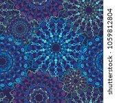 beautiful seamless pattern in...   Shutterstock .eps vector #1059812804