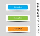 set of header designs or banner ...   Shutterstock .eps vector #1059822257