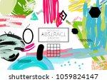 abstract universal art web... | Shutterstock .eps vector #1059824147
