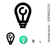 ideas generator icon or company ...   Shutterstock .eps vector #1059831215