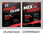 vector layout design template...   Shutterstock .eps vector #1059840665