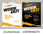 vector layout design template... | Shutterstock .eps vector #1059840674