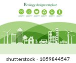 ecology connection  concept... | Shutterstock .eps vector #1059844547