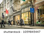 london  march  2018   shoppers... | Shutterstock . vector #1059845447