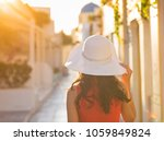 santorini travel tourist... | Shutterstock . vector #1059849824