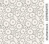 vector seamless pattern. hand... | Shutterstock .eps vector #1059856955