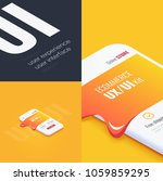conceptual banner  booklet ...