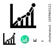 chart icon or schedule icon for ...   Shutterstock .eps vector #1059865121