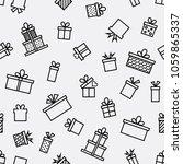 trendy seamless line icon...   Shutterstock .eps vector #1059865337