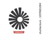 circular stairs vector icon   Shutterstock .eps vector #1059881084
