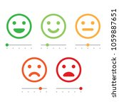 rating satisfaction. feedback... | Shutterstock .eps vector #1059887651