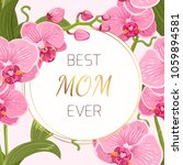 mothers day greeting card... | Shutterstock .eps vector #1059894581