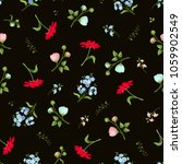 vector seamless pattern with... | Shutterstock .eps vector #1059902549