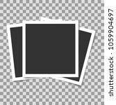 stack of blank vintage paper... | Shutterstock .eps vector #1059904697