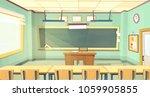 vector cartoon background with... | Shutterstock .eps vector #1059905855