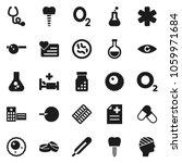 flat vector icon set   flask...   Shutterstock .eps vector #1059971684