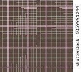 tartan plaid pattern in vector | Shutterstock .eps vector #1059991244