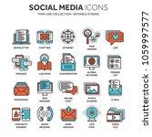 communication. social media.... | Shutterstock .eps vector #1059997577