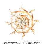 digital fractal art. computer... | Shutterstock .eps vector #1060005494