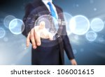 business person working with... | Shutterstock . vector #106001615