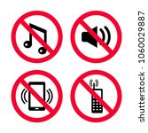 don't make noise  no mobile... | Shutterstock .eps vector #1060029887