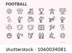football icons. football...