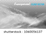 clouds vector on transparent... | Shutterstock .eps vector #1060056137