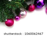 pink and purple christmas... | Shutterstock . vector #1060062467