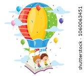 vector illustration of kids... | Shutterstock .eps vector #1060063451