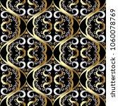 floral vintage oriental style... | Shutterstock .eps vector #1060078769