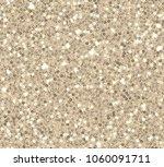 gold sequins seamless pattern... | Shutterstock .eps vector #1060091711