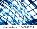structural glass ceiling   wall ...   Shutterstock . vector #1060092314