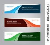 abstract modern banner... | Shutterstock .eps vector #1060102157