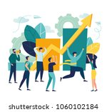 vector business illustration ... | Shutterstock .eps vector #1060102184