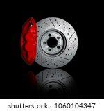 disc brakes  stopping the break ... | Shutterstock . vector #1060104347