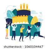 vector business illustration ... | Shutterstock .eps vector #1060104467