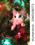 Calico Kitten In A Christmas...
