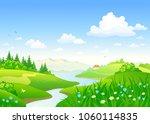 vector cartoon drawing of a...   Shutterstock .eps vector #1060114835