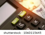 tax cuts or reduce concept ... | Shutterstock . vector #1060115645
