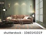 interior classic living  retro... | Shutterstock . vector #1060141019