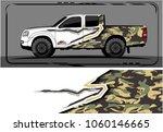 modern truck graphic. abstract... | Shutterstock .eps vector #1060146665